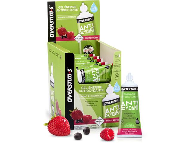 OVERSTIM.s Antioxydant Liquid Gel Box 36x30g Red Berries